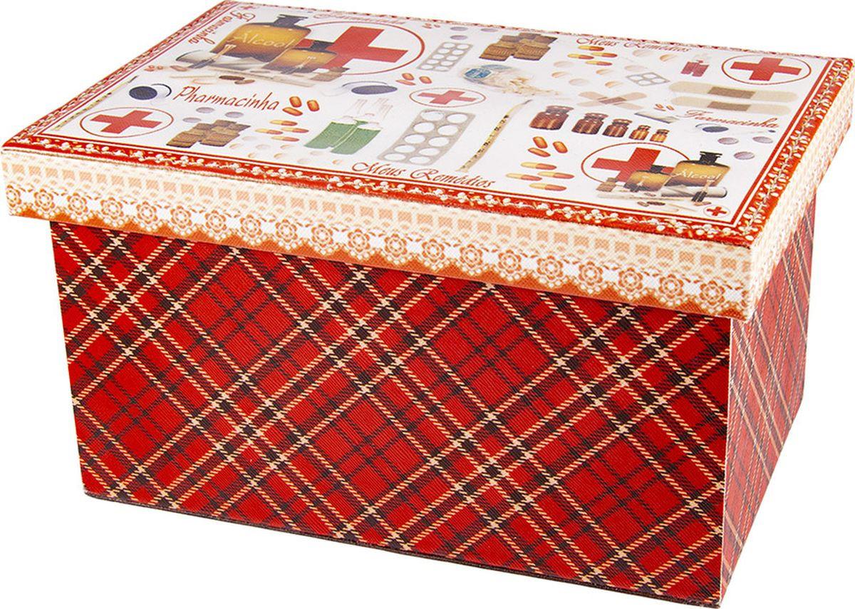 Шкатулка для хранения Русские подарки, 84333, мультиколор, 25 х 17 х 14 см