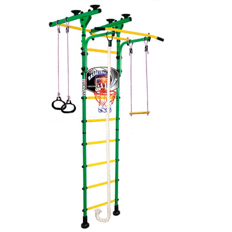 Спортивный комплекс Midzumi Детский Hoshi Ton Basketball Shield зеленый зеленый все цены