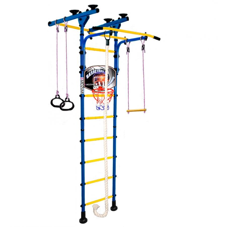 Спортивный комплекс Midzumi Детский Hoshi Ton Basketball Shield синий синий все цены