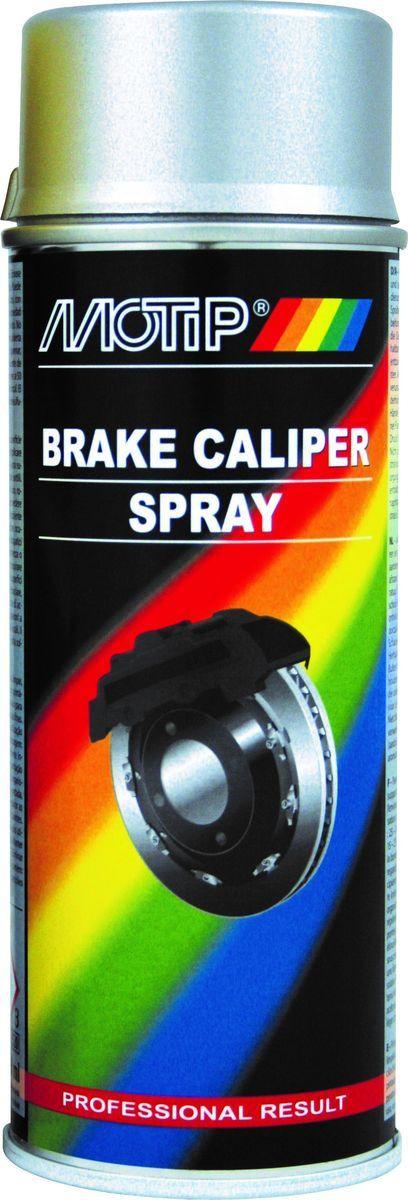 Эмаль для суппортов Motip, 04096, серебристый, 0,4 л головка для регулировки тормозных суппортов мастак 102 20005