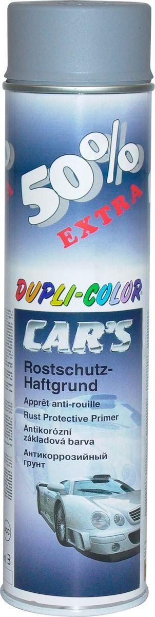 Грунт универсальный Dupli Color, 181832, акриловый, серый, 0,6 л181832Высококачественный акриловый грунт обладает великолепной адгезией, позволяет создать идеальную поверхность для дальнейшего покрытия любыми видами красок. Благодаря наличию антикоррозийных компонентов служит надежной защитой от ржавчины.
