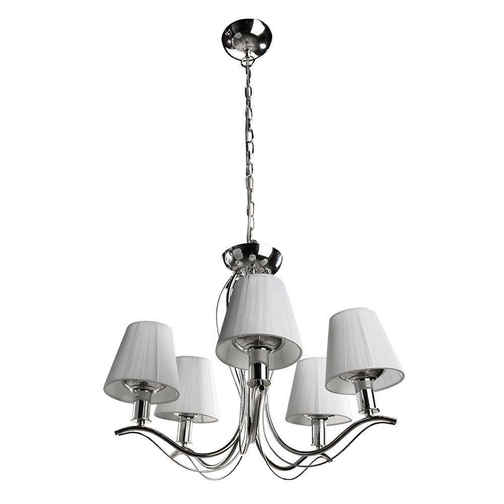 Подвесной светильник Arte Lamp A9521LM-5CC, белый arte lamp a1150lm 5cc