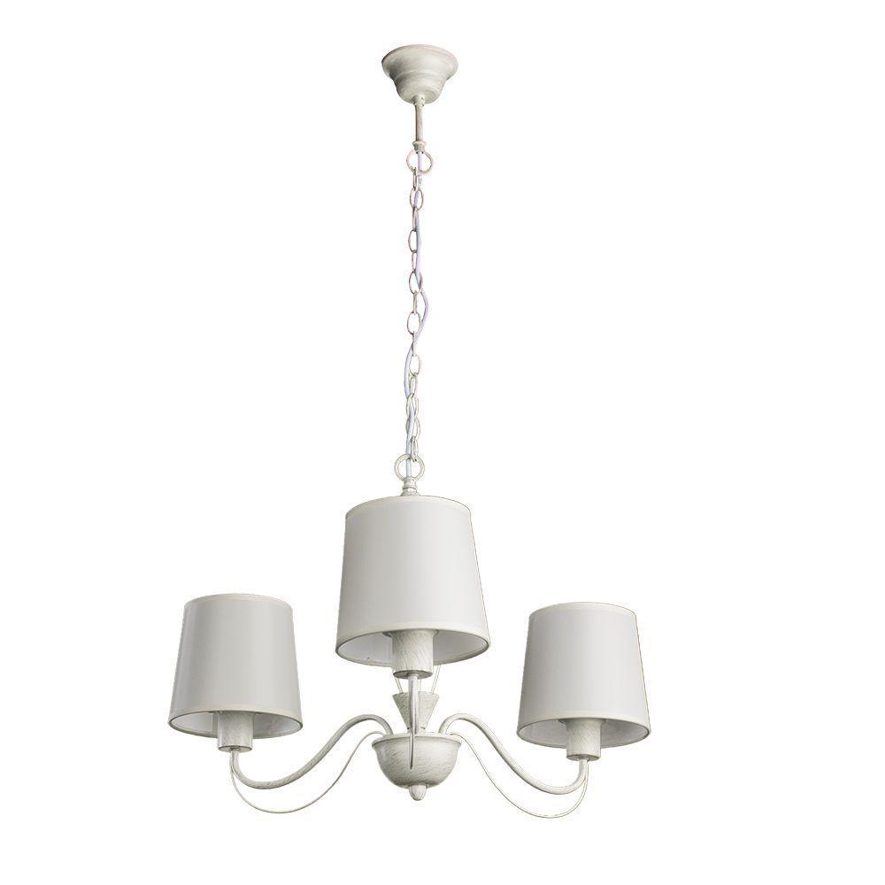 цена на Подвесной светильник Arte Lamp A9310LM-3WG, белый