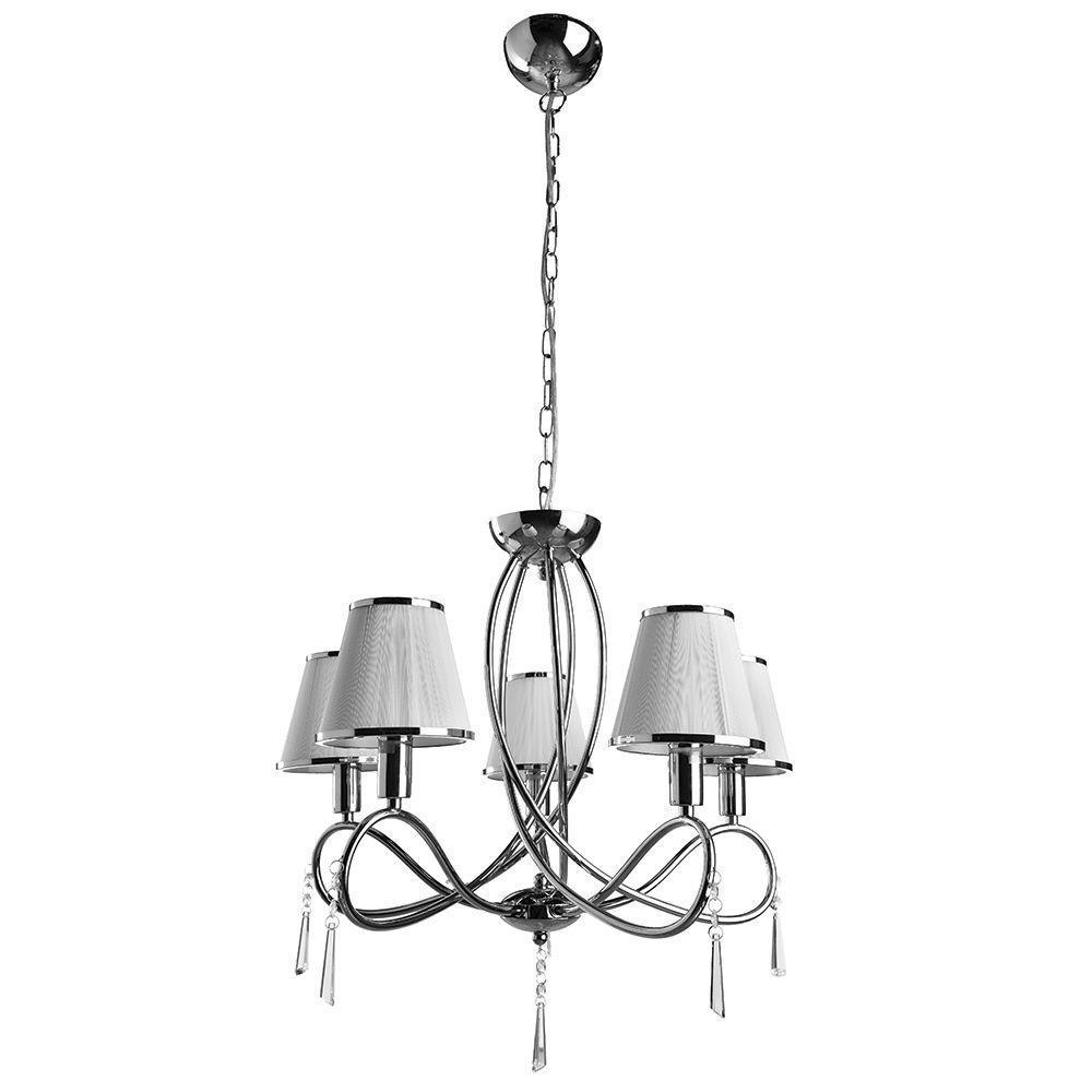 Подвесной светильник Arte Lamp A1035LM-5CC, белый arte lamp a1150lm 5cc