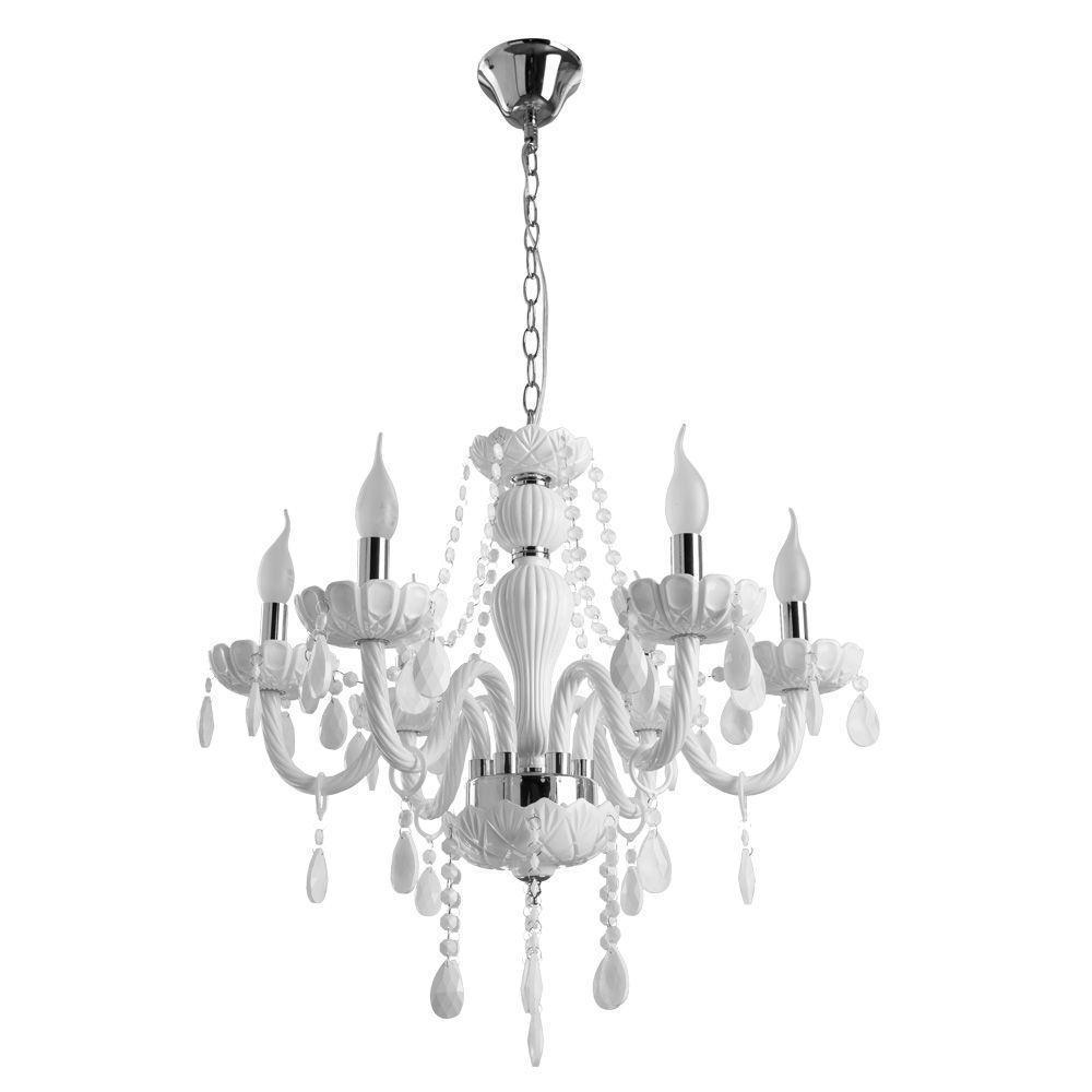 Подвесной светильник Arte Lamp A3964LM-6WH, белый цена 2017