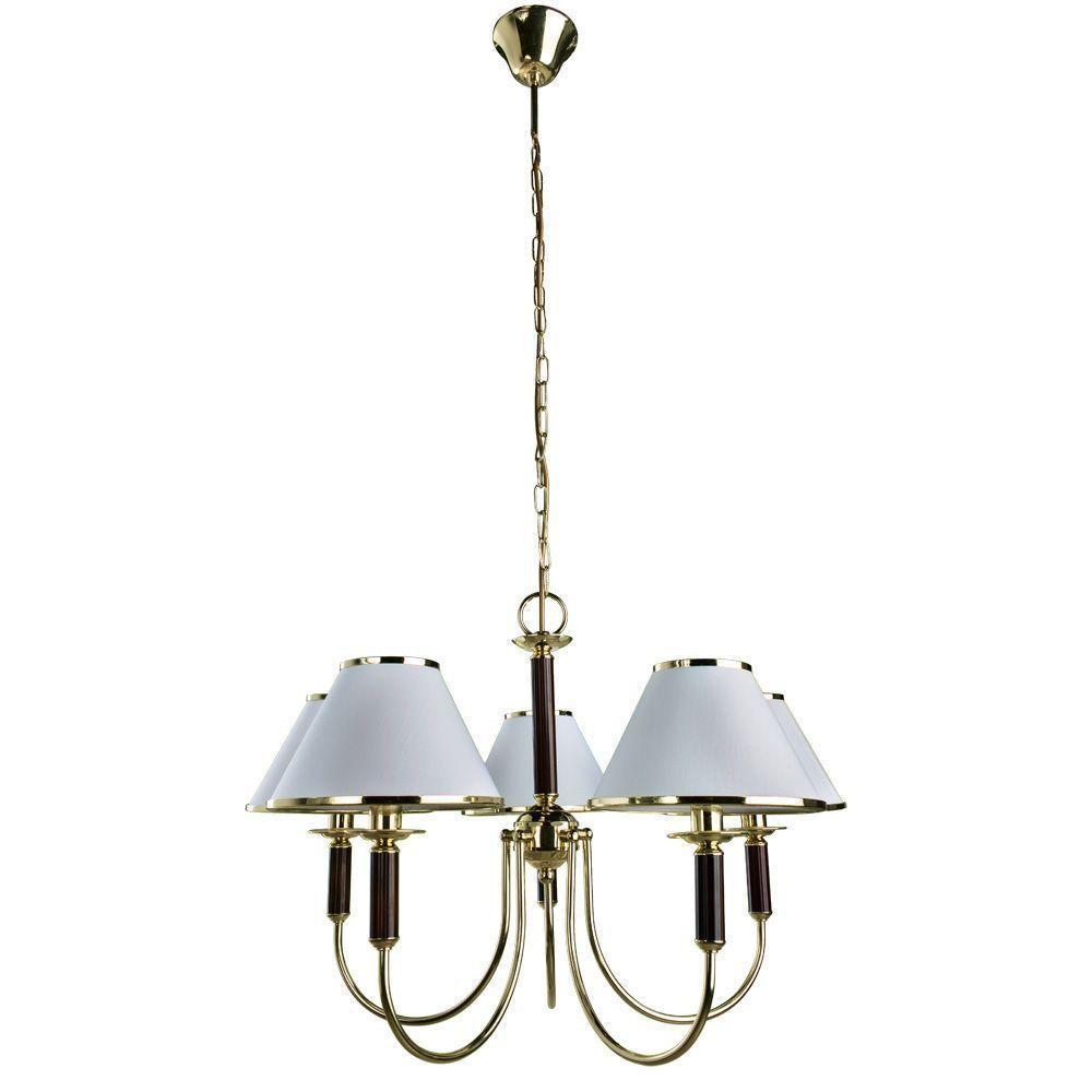 Подвесной светильник Arte Lamp A3545LM-5GO, белый arte lamp подвесная люстра arte lamp armonico a5008lm 5go