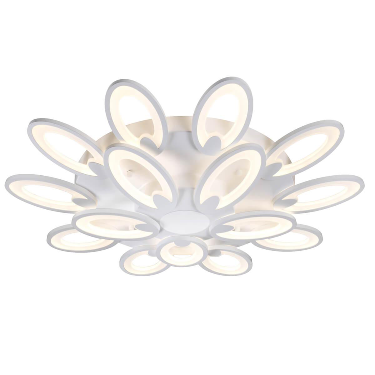 Потолочный светильник Omnilux OML-45807-210, белый omnilux потолочная светодиодная люстра с пультом ду omnilux oml 45807 120