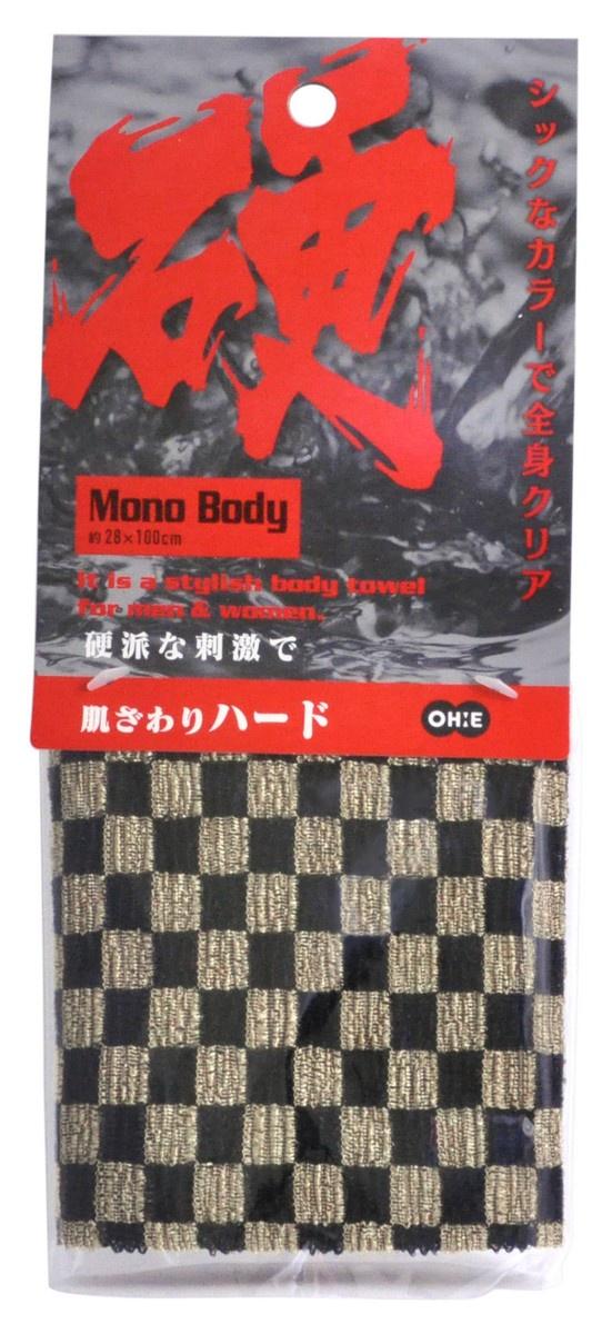 Мочалка Ohe / для тела жесткая, арт. 609053 мочалка для тела жесткая зеленая cure nylon towel regular green