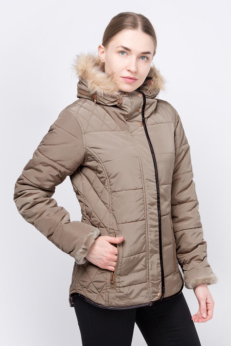 Куртка Regatta 12storeez шуба укороченная из искусственного меха бежевый