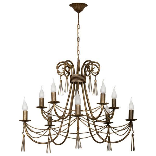 лучшая цена Подвесной светильник Nowodvorski 2767, бронза