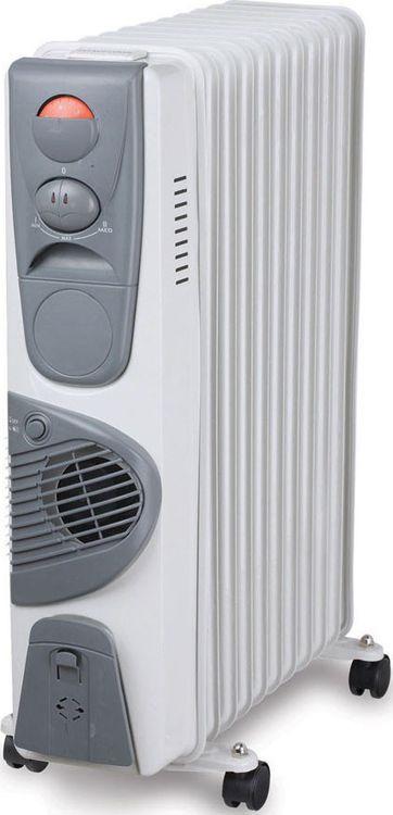 Радиатор масляный Sinbo SFH 3326, белый обогреватель sinbo sfh 3321 white