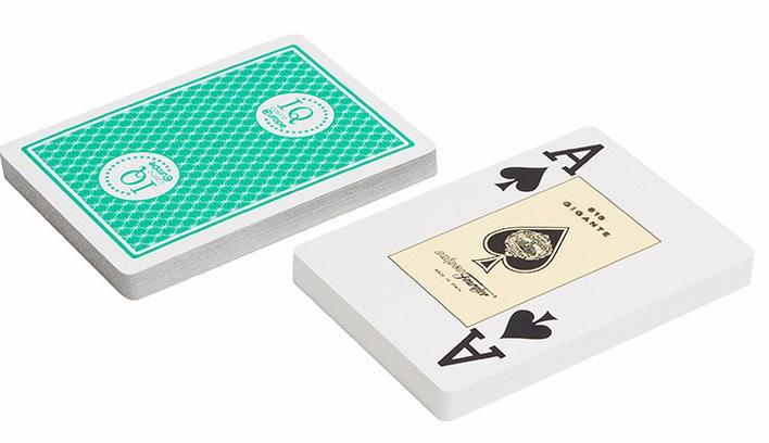 Игральные карты Fournier Fournier 818 Casino Europe, зеленая рубашка игральные карты fournier fournier 2818 100