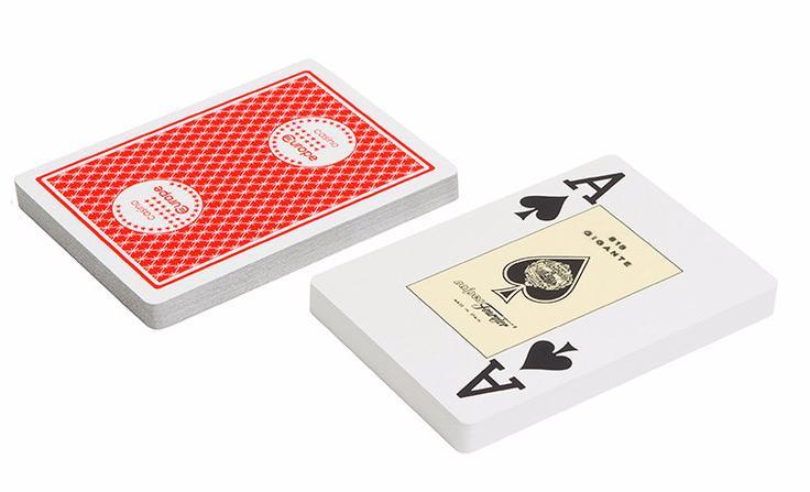 Игральные карты Fournier Fournier 818 Casino Europe, красная рубашка игральные карты fournier fournier 2818 100