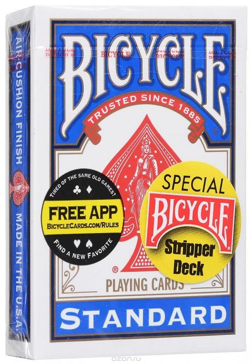Игральные карты United States Playing Card Company Bicycle Stripper Deck Blue1014830
