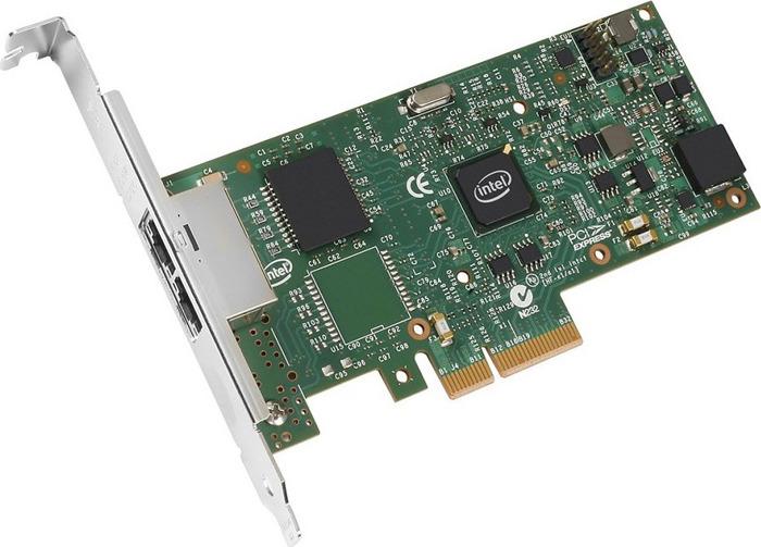 лучшая цена Сетевая карта Intel, I350T2V2BLK 936714