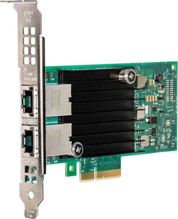 Сетевая карта Intel X550T2BLK 2xRG45 10Gb/s PCI-E 3.0x8 Low Profile цена 2017