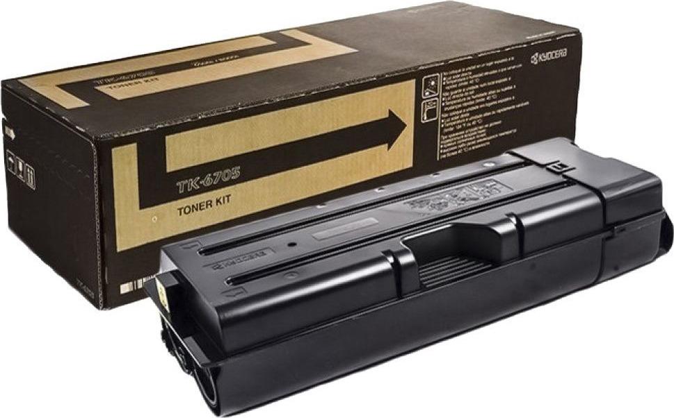 Картридж Kyocera TK-6705, черный, для лазерного принтера