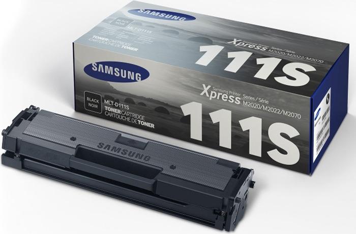 Картридж Samsung MLT-D111S SU812A, черный, для лазерного принтера, оригинал