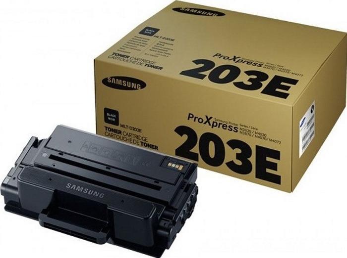 Картридж Samsung MLT-D203E SU887A, черный, для лазерного принтера, оригинал