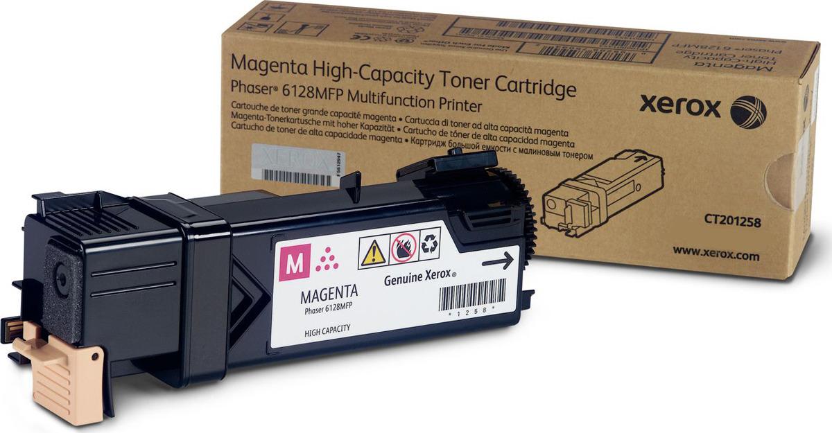Картридж Xerox 106R01457, пурпурный, для лазерного принтера, оригинал