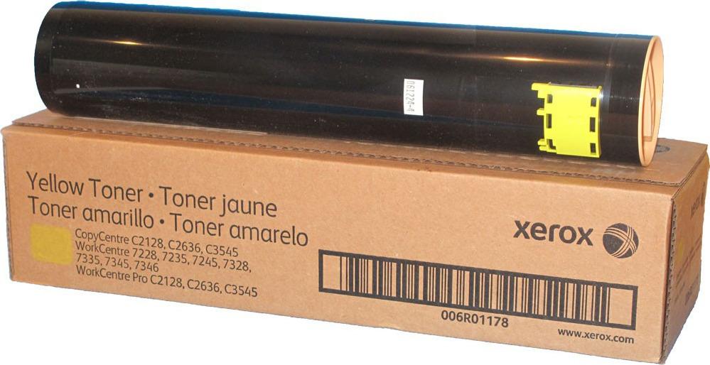 Картридж Xerox 006R01178, желтый, для лазерного принтера, оригинал