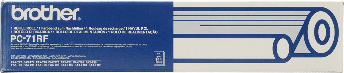 Термопленка Brother PC-71 для FAX-555/645/685mc/T-74/T-76mc/T-78/727/737/104/106