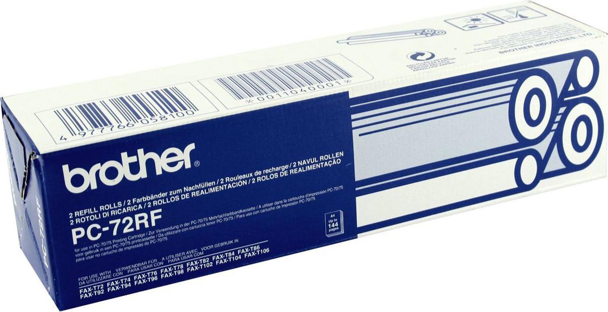 Термопленка Brother PC-72RF для 104R/106R T72/74/76/78/645/685/727/737