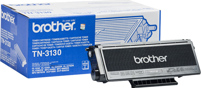 все цены на Картридж Brother TN3130, черный, для лазерного принтера онлайн