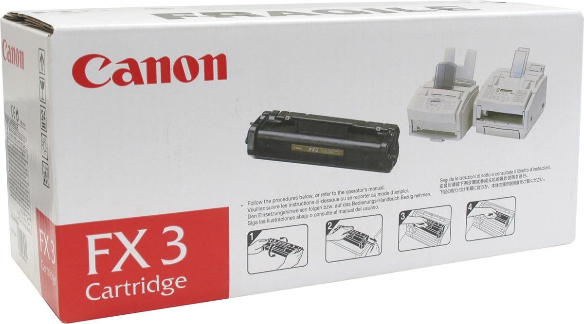 Картридж Canon FX-3 1557A003, черный, для лазерного принтера, оригинал