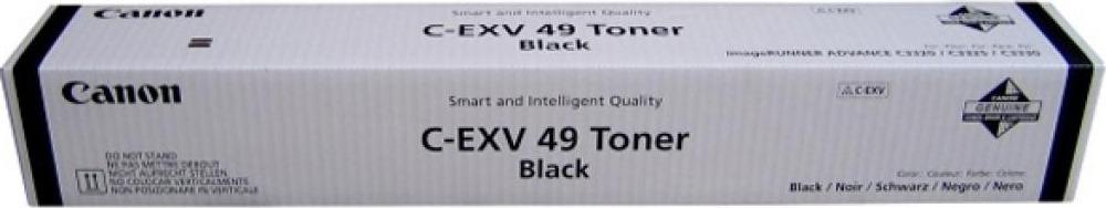 Фото - Тонер Canon C-EXV49BK 8524B002 туба для копира iR-ADV C33xx, Black meike fc 100 for nikon canon fc 100 macro ring flash light nikon d7100 d7000 d5200 d5100 d5000 d3200 d310