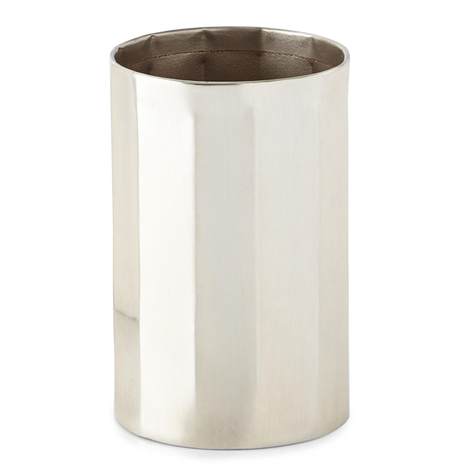 Стакан для ванной комнаты Kassatex Nomad, серебристый