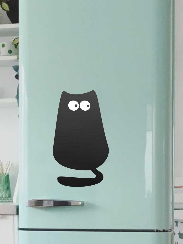 Доска магнитная Doski4you Кот №1 м, только доска, черный
