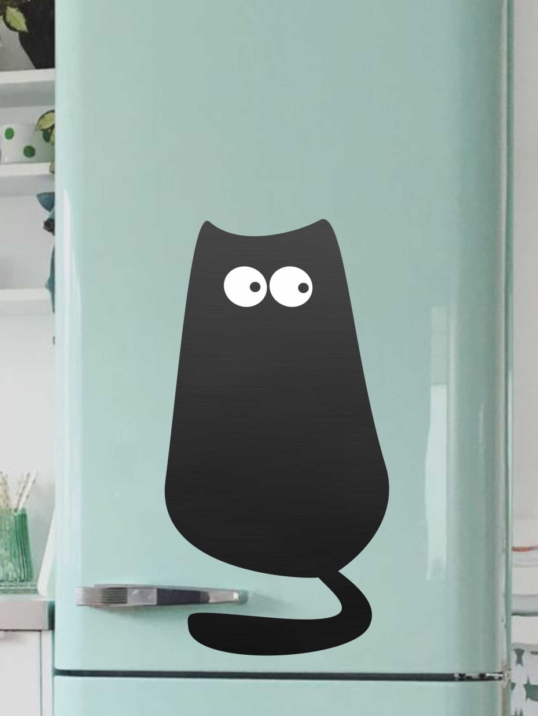 Доска магнитная Doski4you Кот №1, только доска, черный