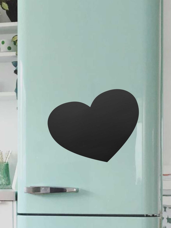 Доска магнитная Doski4you Сердце, только доска, черный