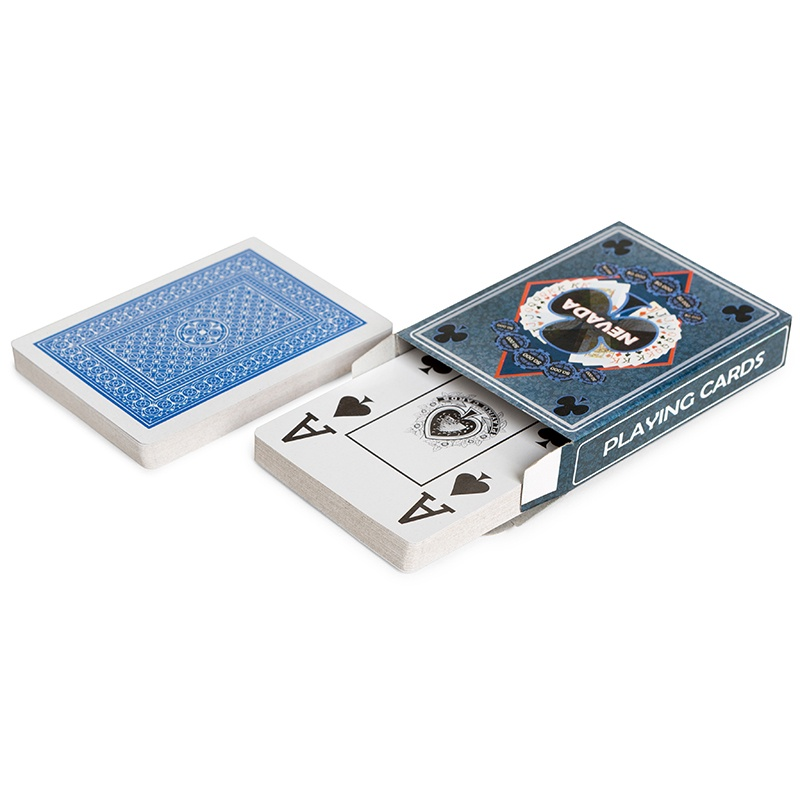 Игральные карты Partida для покера «Nevada»dpnvdКолода: 54 карты Размер: 7 х 9 х 2 см Вес: 0,1 кг
