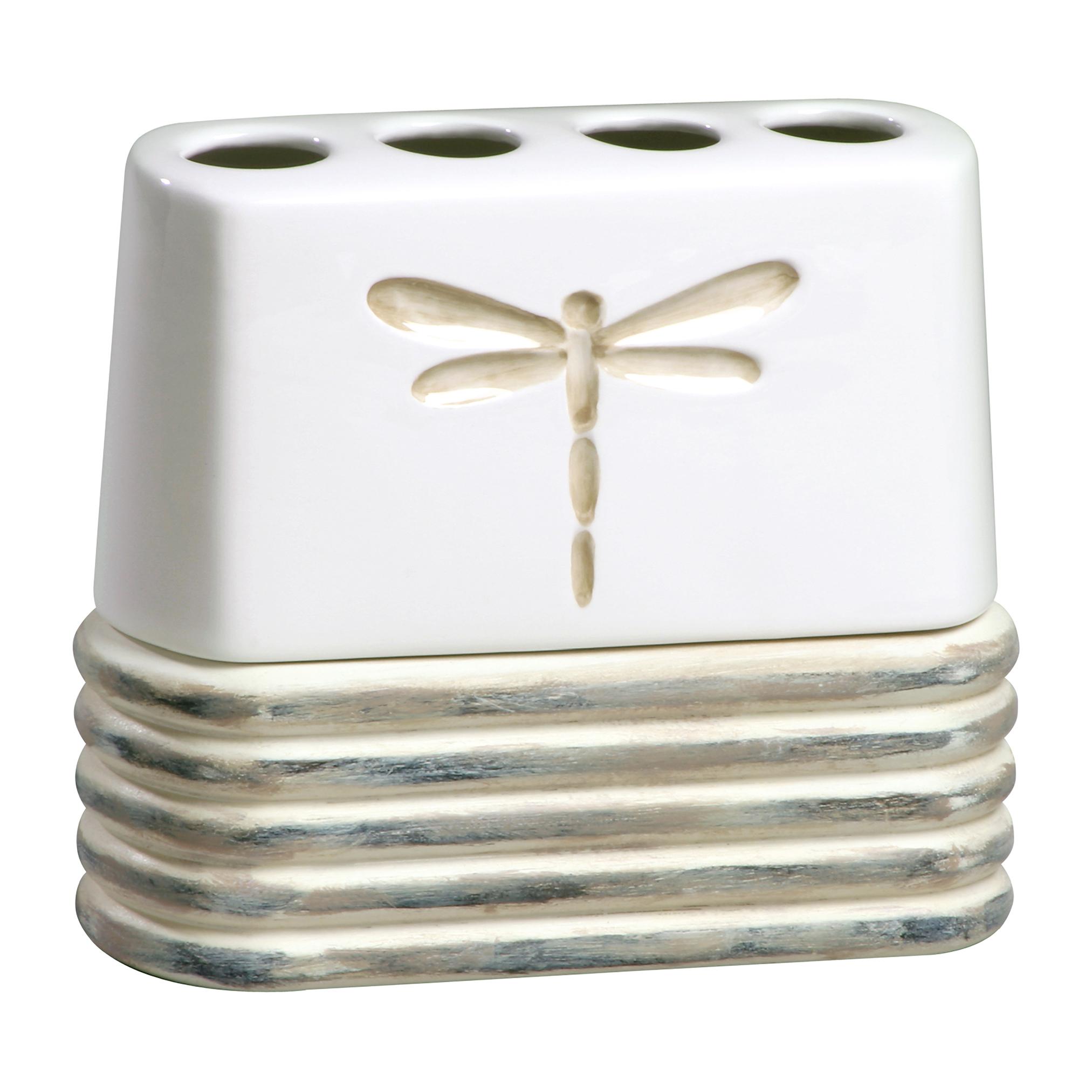 Стакан для ванной комнаты Creative Bath Dragonfly, белый, бежевыйDGF60NATУже более 40 лет компания Creative Bath является лидером рынка в дизайне и изготовлении декоративных изделий для ванной комнаты и дома. Продукты компании отличает тонкий вкус и современный инновационный дизайн. В мире современных изделий для дома продукцию отличает интересный дизайн и постоянное стремление к усовершенствованию. Качество, изысканный вкус и уникальное понимание рынка, все в совокупности делает компанию лидером в своей области.