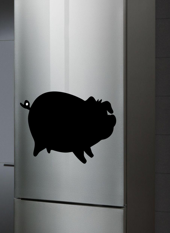 Доска магнитная Doski4you Свинка №2, комплект, черный