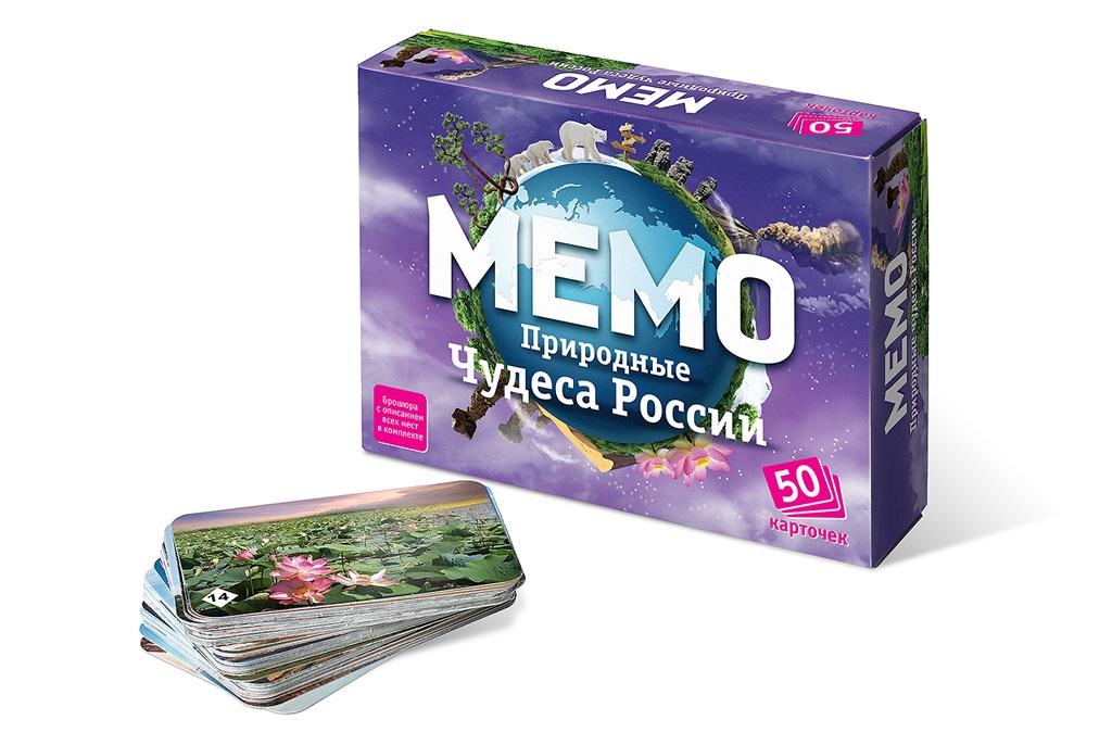 Настольная игра Нескучные игры Мемо