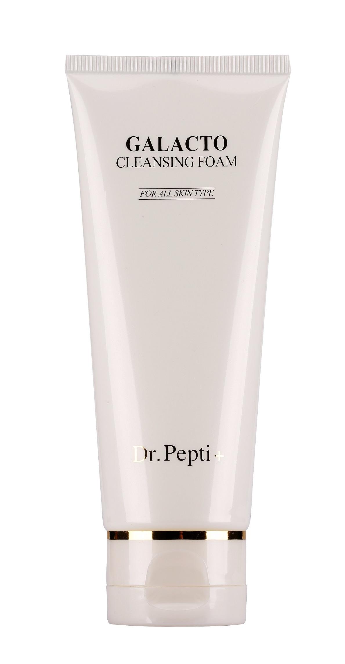 Пенка для умывания Dr. Pepti+ Очищающая пенка для лица с омолаживающим эффектом Galacto Cleansing Foam, 110 мл