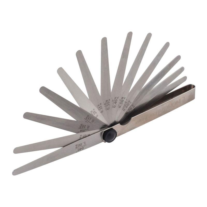 Щуп измерительный NORGAU 13 штук, Щупы толщины 0,05-1 мм щупы sata 09402