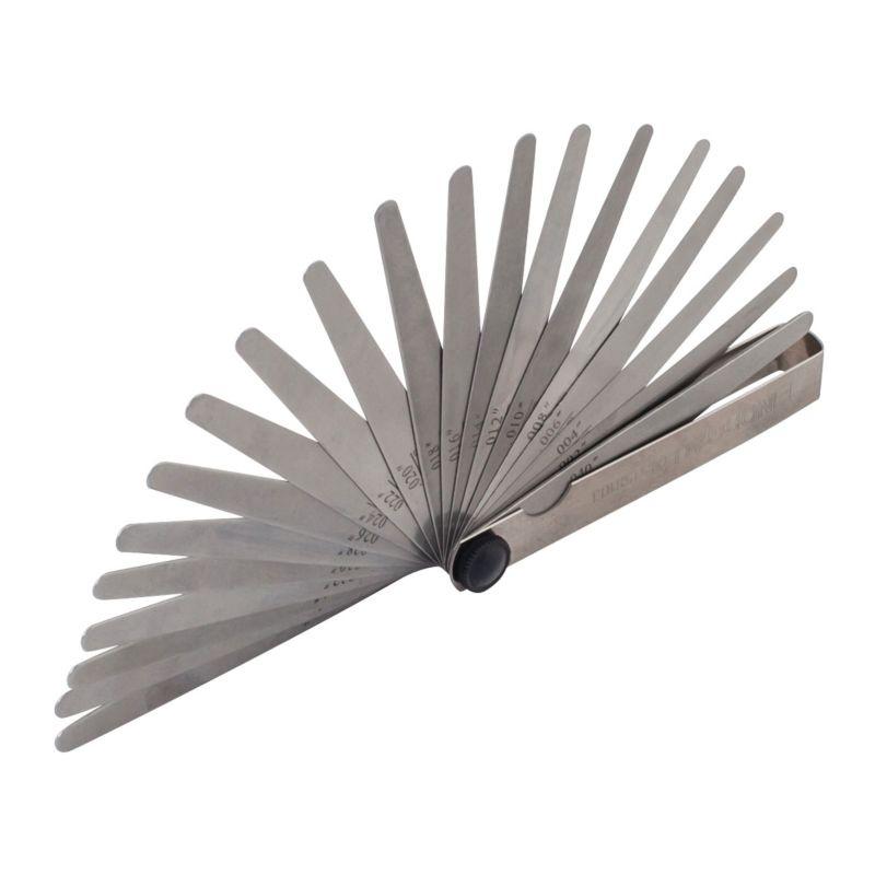 Щуп измерительный NORGAU 20 штук, Щупы толщины 0,05-1 мм, 045158103 щупы sata 09402