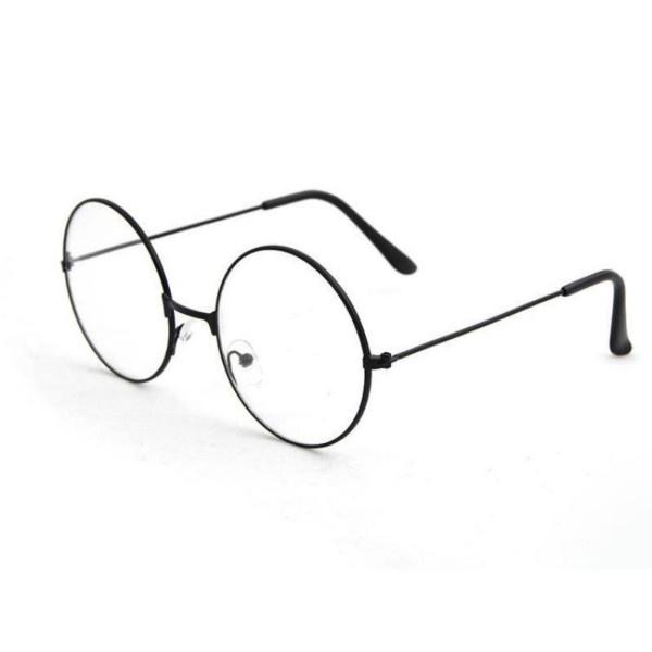 Оправа Круглые очки в металлической оправе, черный