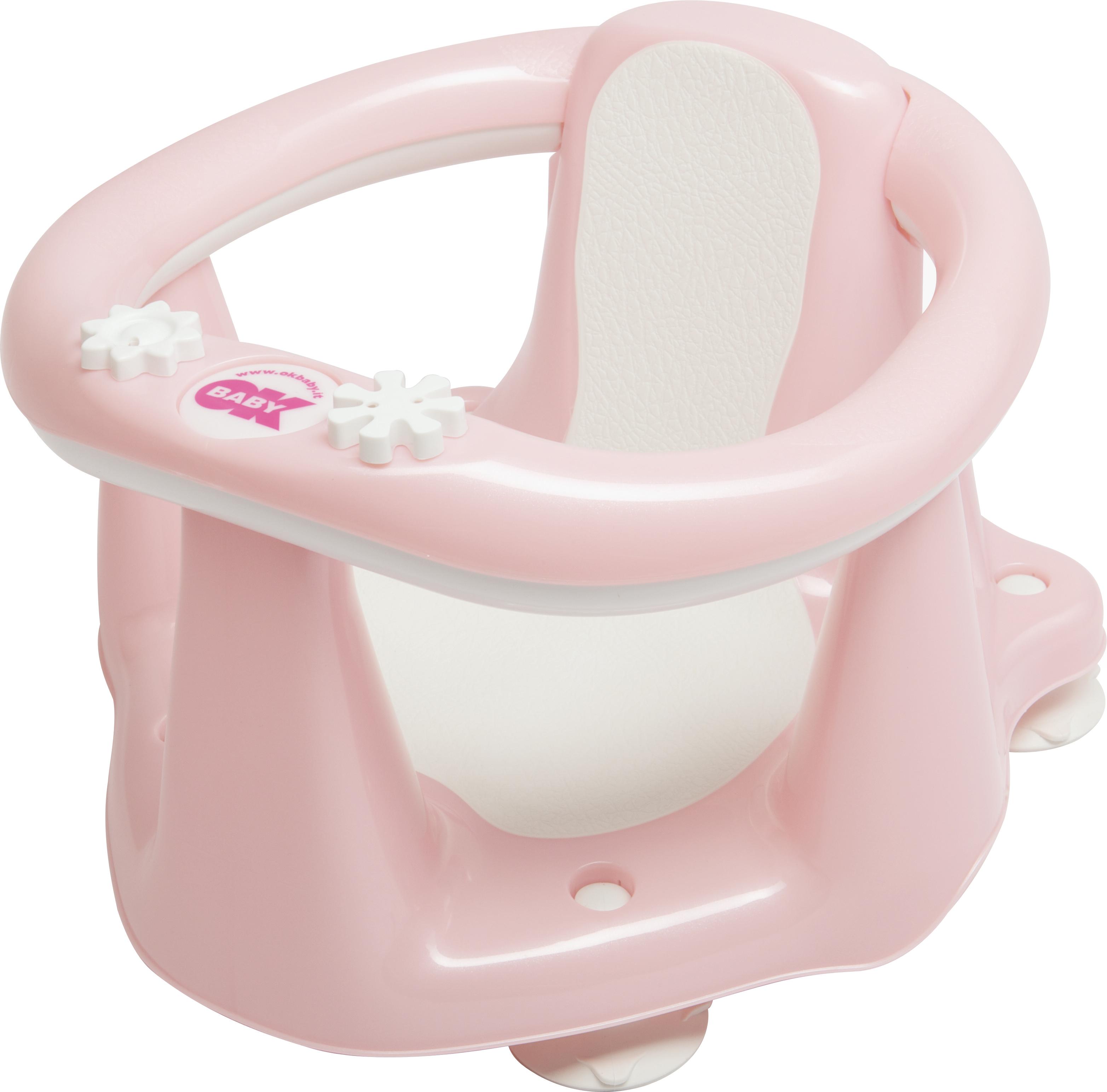 Стульчик для купания OK Baby Flipper Evolution светло-розовый