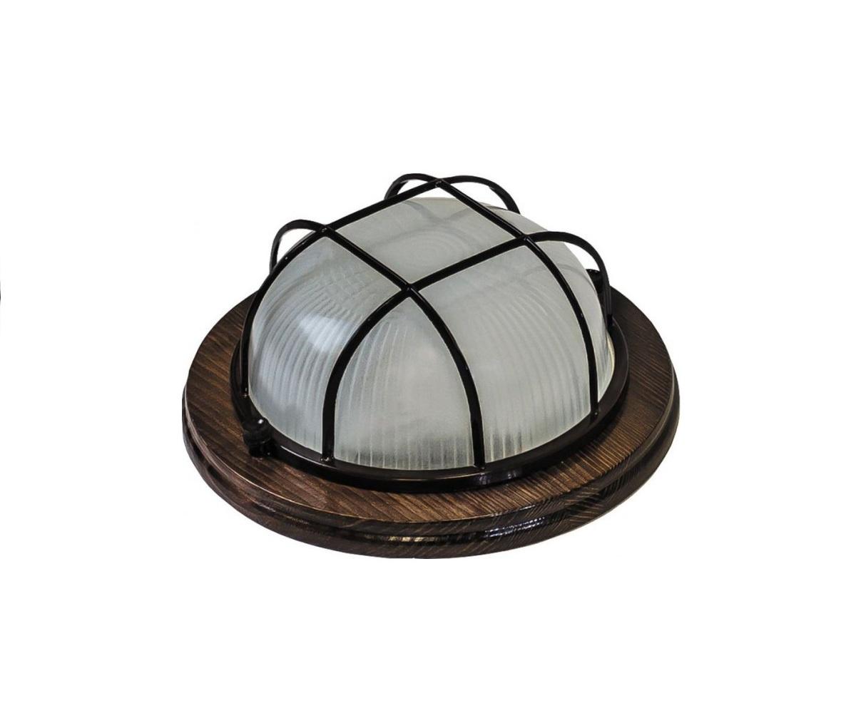 Настенно-потолочный светильник НБО 03-60-022, темно-коричневый