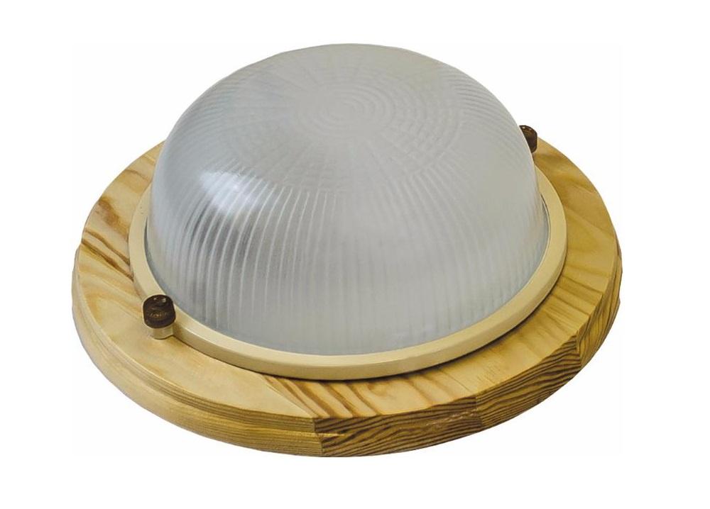 Настенно-потолочный светильник НБО 03-60-011, светло-коричневый