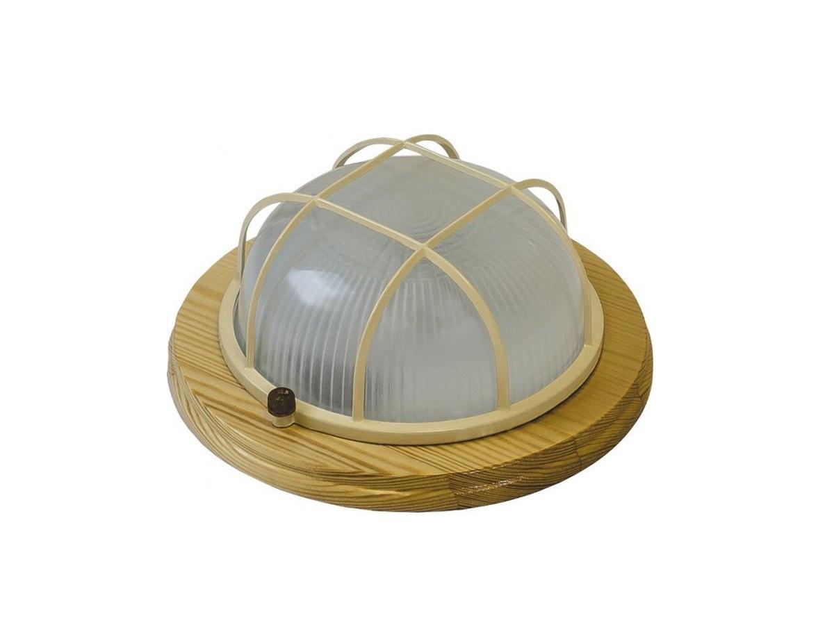 Настенно-потолочный светильник НБО 03-60-012, светло-коричневый