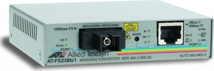 Медиаконвертер Allied Telesis, AT-FS238B/1-60