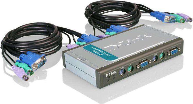 Переключатель D-Link, DKVM-4K/B2A kvm переключатель lcll 118 8g vga sz lcll i009002