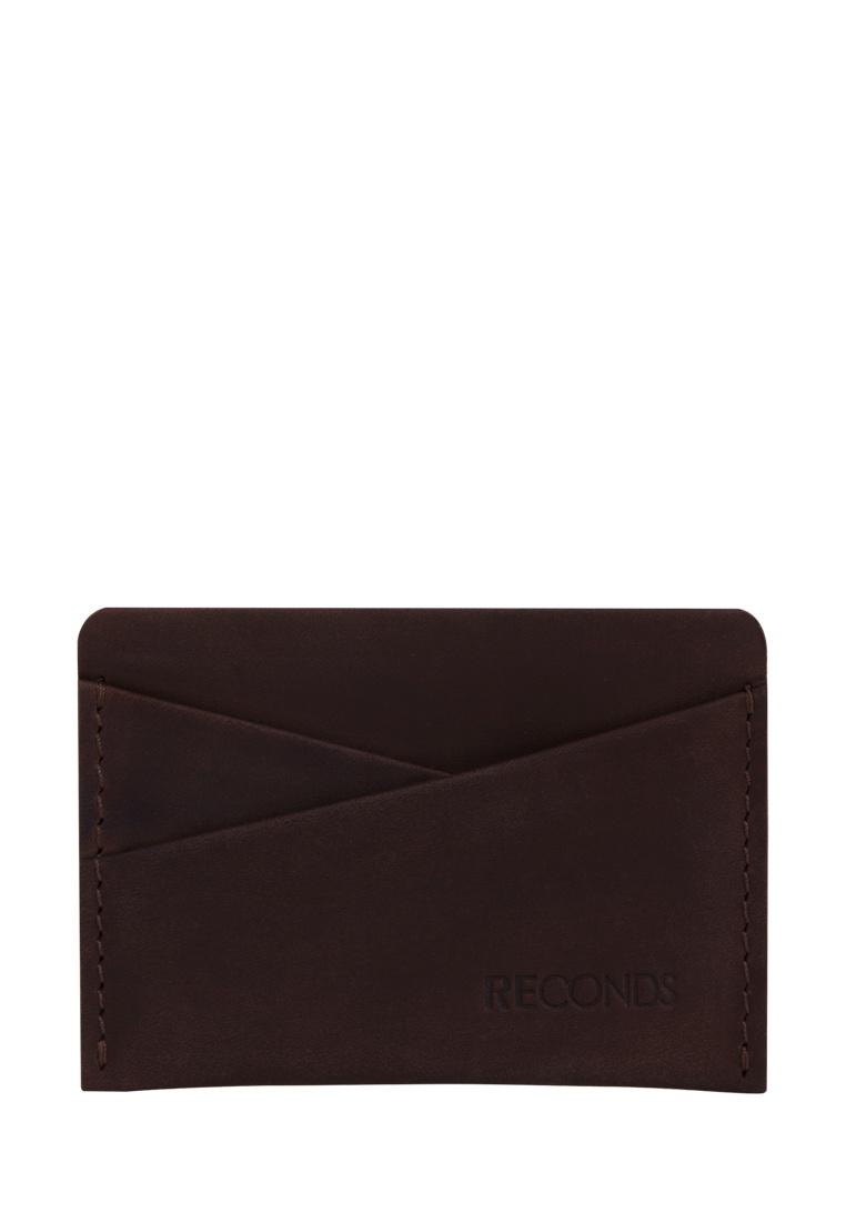 Визитница Reconds Pocket, темно-коричневый
