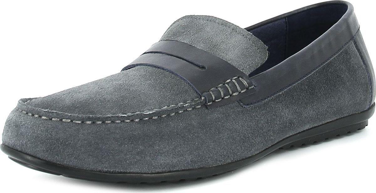 Мокасины мужские Paolo Conte, цвет: серый. B1-403-01-2. Размер 41B1-403-01-2Стильная, модная, дизайнерская обувь и все бестселлеры сезона.